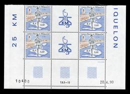SPM - Coin Daté YV 522 N** Du 20.4.90 (deux Paires YV 522A) - Neufs