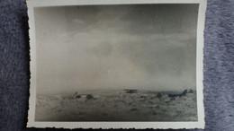 PHOTO D  AFRIQUE DU NORD ALGERIE ?  PAYSAGE DESERT AVION ?  FORMAT 11.5 PAR 8.5 CM OCCUPATION FRANCAISE - Plaatsen