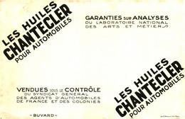 """H C/Buvard Huile """"Chantecler"""" Pour Automobiles  (N= 1) - H"""
