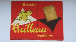 Buvard  Ancien , BISCOTTE HUTTEAU . - Sin Clasificación