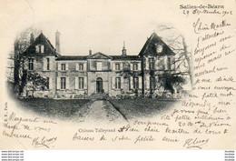 D64  SALIES-DE-BEARN  Château Talleyrand  ..... - Salies De Bearn