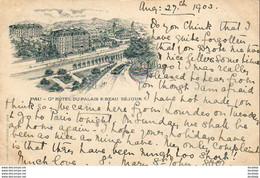 D64   PAU   Grand Hôtel Du Palais Et Beau Séjour  ..... - Pau
