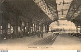 D82  MONTAUBAN La Gare De Villebourbon - Montauban