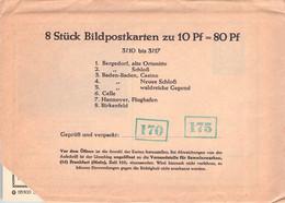 BRD - BILDPOSTKARTEN 1961/09 #3/10-3/17 /AS182 - Cartes Postales Privées - Neuves