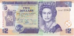 BILLETE DE BELIZE DE 2 DOLLARS  DEL AÑO 2005 EN CALIDAD EBC (XF)  (BANKNOTE) - Belize