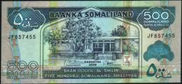 ♛ SOMALILAND - 500 Shilin / Shillings 2008 UNC P.6 G - Somalië