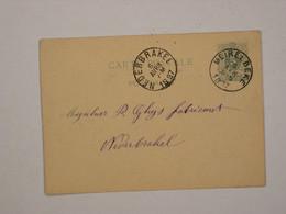 Belgique : Entier 17 De Meirelbeke Pour Nederbrakel - Cartoline [1871-09]