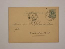 Belgique : Entier 17 De Renaix Pour Nederbrakel - Cartoline [1871-09]