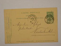 Belgique : Entier 31 D'Haeltert Pour Nederbrakel - Cartoline [1871-09]