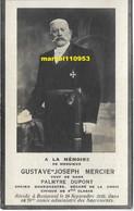 Mercier Gustave Joseph -ancien Bourgmestre ( Buissenal 1929 ) - Esquela