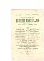 LE PETIT MARSEILLAIS-TOULON -offert à Tout Acheteur-SALLE DE DEPECHES - J