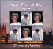 Papua New Guinea 2017. Diana - Princess Of Wales (MNH OG) Miniature Sheet - Papua New Guinea