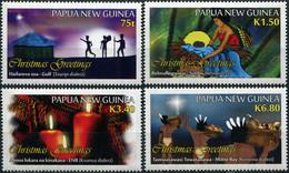 Papua New Guinea 2017. Christmas 2017 (MNH OG) Set Of 4 Stamps - Papua New Guinea