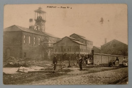Carte Postale Ancienne -  FERFAY-Fosse N°4 - Bergbau