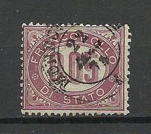 ITALIA ITALY 1875 Michel 3 Service Dienstmarke O - Service