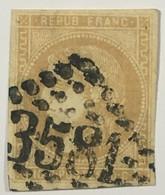 YT 43B (°) Obl 1870-71 Emission De Bordeaux 10c (Report 2) Belles Marges LGC 3581 St-Etienne Loire (110 Euros) – Ciel - 1870 Bordeaux Printing