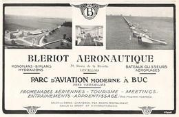 BUC LEVALLOIS Publicité Pour BLERIOT AERONAUTIQUE 1914 - Sonstige