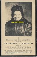 Lenoir Louise - Sirault 1826 / Pâturages 1916 - Esquela