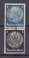 Deutsches Reich - 1940/41 - Michel Nr. S 171 - Gestempelt - Se-Tenant