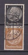 Deutsches Reich - 1934 - Michel Nr. S 115 - Gestempelt - Se-Tenant