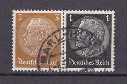 Deutsches Reich - 1939 - Michel Nr. W 77 - Gestempelt - Se-Tenant