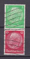 Deutsches Reich - 1933 - Michel Nr. S 106 - Gestempelt - Se-Tenant