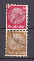 Deutsches Reich - 1939 - Michel Nr. S 179 - Gestempelt - Se-Tenant