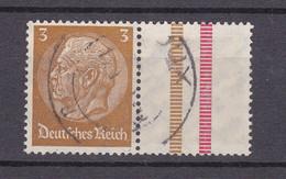Deutsches Reich - 1937/39 - 3 + Z - Gestempelt - Se-Tenant