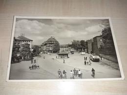 Kempten, Bavaria, Germany, Bahnhofplatz, Stamp 1951, Stamps Postleitzahl Immer Angeben - Kempten