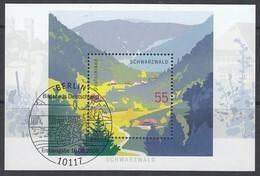 BRD BLock 68, Gestempelt, Schwarzwald 2006 - Blocks & Sheetlets