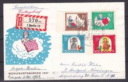 Berlin - 1967 - Michel Nr. 310/313 - Ersttagsbrief - Used Stamps