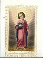 CANIVET IMAGE RELIGIEUSE DE 1868 POURRAIS JE ASSEZ VOUS AIMER Ô MON DIEU POUR TOUT CE QUE VOUS AVEZ SOUFFERT - Devotion Images