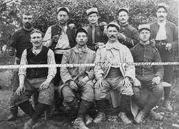 06 / CARTE PHOTO / 1915 / 112e RI ( TOULON ) / LES GUERRIERS DES ALPES MARITIMES /  MEUSE / 112e REGIMENT D' INFANTERIE - Zonder Classificatie