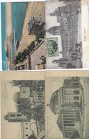 PALERMO-QUATTRO CARTOLINE -2 VIAGGIATE NEL 1920 - Palermo