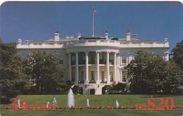 USA - White House/Washington DC, Sprint Prepaid Card $20, 08/98, Used - Sprint