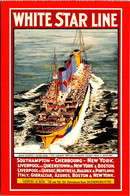 Advertisiong Cunard Line White Star Line R M S Olympic Marine Art Poster Collection - Advertising