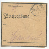 Germany 1910's WWI Military - Briefpostbund Label K.D. Feldpostamt I. Reservekorps - Storia Postale