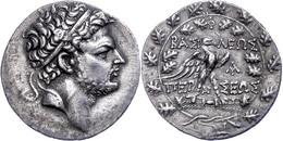 Perseus, Tetradrachme (15,19g), 179-168 V. Chr., Amphipolis. Av: Kopf Nach Rechts. Rev: Adler Mit Ausgebreiteten Schwing - Non Classificati