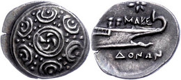 Tetrobol (2,19g), Ca. 158-149 V. Chr. Av: Makedonisches Schild. Rev: Schiffsbug, Darüber Ein Stern. BMC 19, SNG Cop. 128 - Non Classificati