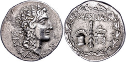 Aesillas, Quaestor., Tetradrachme (16,72g), Ca. 1. Jh. V. Chr. Av: Kopf Alexanders Des Großen Nach Rechts. Rev: Keule Zw - Non Classificati