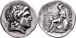 Tetradrachme (17,26g), Lysimachos, 323-281 V. Chr., Sestus? Av: Alexanderkopf Mit Diadem Und Ammonshorn Nach Rechts. Rev - Non Classificati