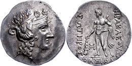 Thasos, Tetradrachme (15,89g), Ca. 2./1. Jhdt V. Chr. Av: Dyonisoskopf Nach Rechts. Rev: Heracles Mit Löwenfell Und Keul - Non Classificati