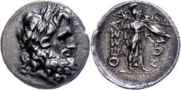 Thessalische Liga, Stater (5,70g), 196-146 V. Chr. Av: Zeuskopf Mit Eichenlaubkranz Nach Rechts. Rev: Athena Itonia Mit  - Non Classificati