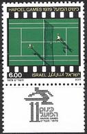 Israel 1979 - Mi 794 - YT 736 ( Hapoel Games : Tennis ) MNH** + Tabs - Tennis