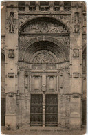 6DP 515 CPA - GISORS - CATHEDRALE - LE PORTAIL PRINCIPALE - Gisors