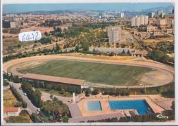 PORT-DE-BOUC- VUE AERIENNE DU STADE MUNICIPAL- FOOTBALL ET VELODROME - Altri Comuni