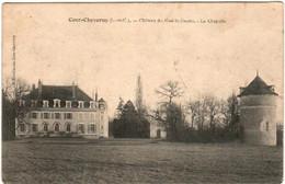 61mr 223 CPA - COUR CHEVERNY - CHATEAU DU GUE LA GUETTE - LA CHAPELLE - Cheverny