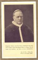 Devotie Devotion - Paus Pius X - Pape Pio X - 1907 - Santini