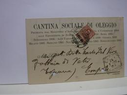 OLEGGIO  -- NOVARA  -- CANTINA SOCIALE  DI OLEGGIO - Novara