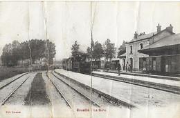 36 - Indre - ECUEILLE - La Gare - - Chateauroux